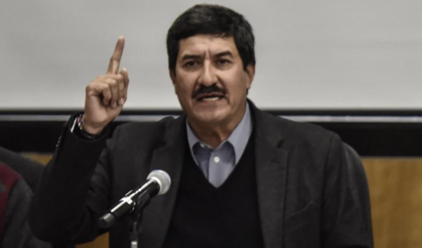 Ciudad de México.- El gobernador de Chihuahua, Javier Corral Jurado, llamó a los diputados federales a no aprobar la militarización del país con la Guardia Nacional (Foto: Mario Jasso/ Cuartoscuro)