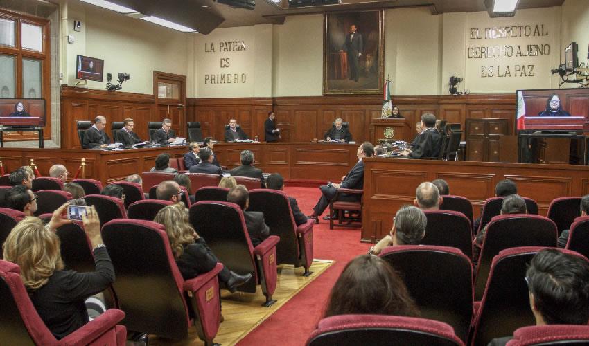 La Suprema Corte de Justicia de la Nación (SCJN) en sesión (Foto: Isaac Esquivel/Archivo/Cuartoscuro)