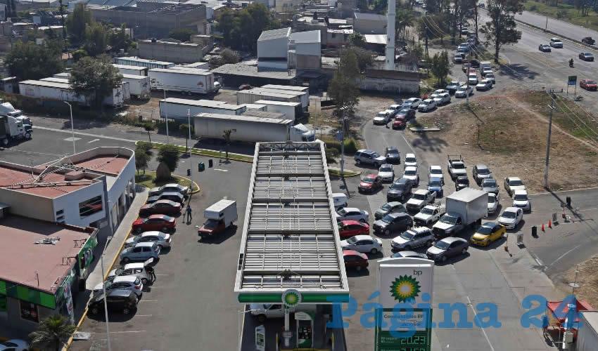 Existen ciertos niveles de desabasto de gasolina en Guanajuato, Querétaro, Jalisco, Aguascalientes, Durango, Coahuila, Tamaulipas, Nayarit, Estado de México y la Ciudad de México (Foto: Archivo/Cuartoscuro)