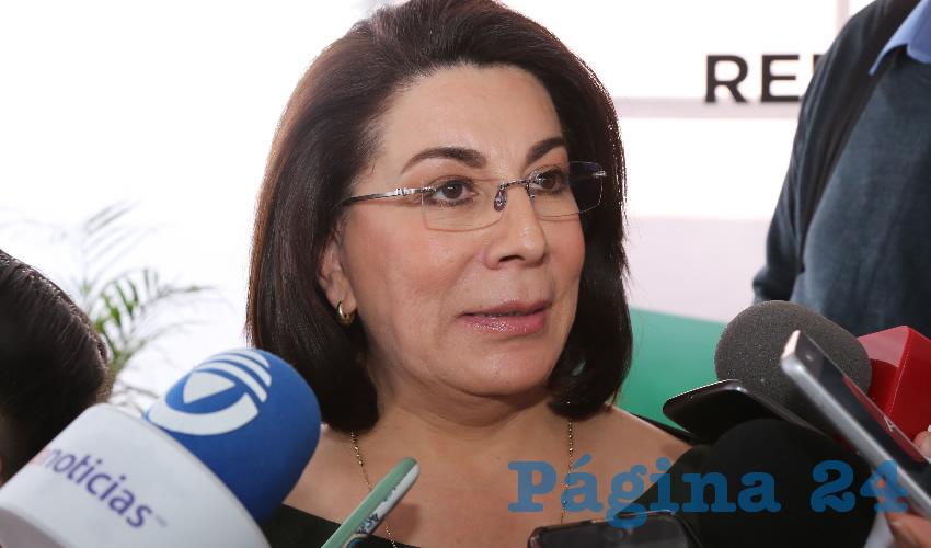 "Lorena Martínez Rodríguez ...""me jubiló la política""..."