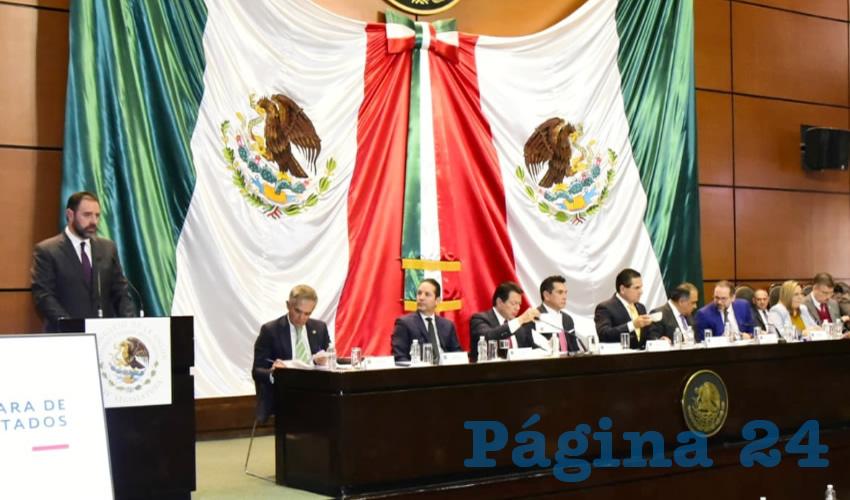 El mandatario participó en la audiencia pública sobre la reforma constitucional de creación de la Guardia Nacional
