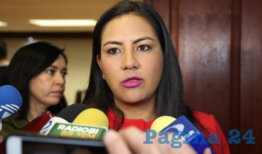 Claudia Guadalupe de Lira Beltrán, diputada local (Foto: Eddylberto Luévano Santillán)