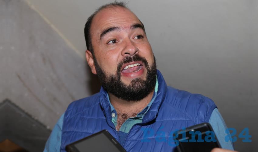 Enrique Barba López, director de Limpia del Municipio de Aguascalientes