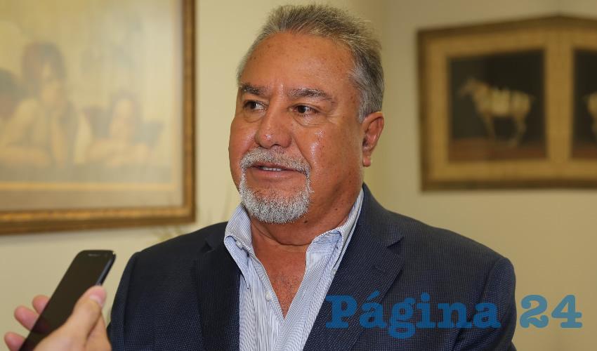 Pedro Gutiérrez Romo, presidente del Consejo Coordinador Empresarial de Aguascalientes