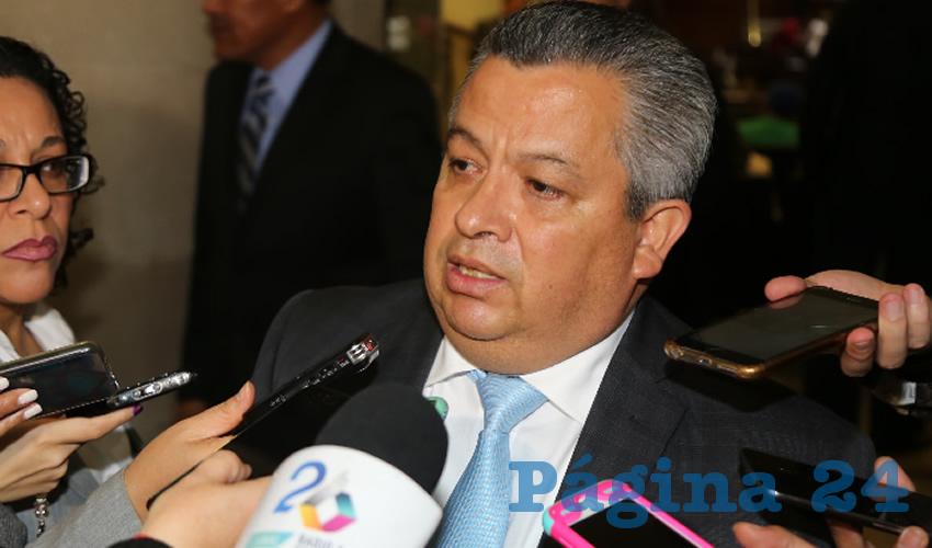 Ricardo Enrique Morán Faz, secretario general de Gobierno