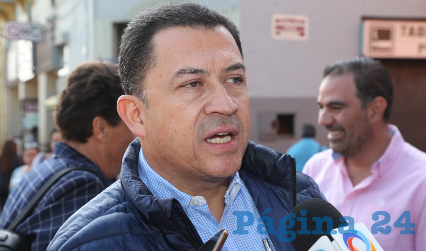 Francisco Romero David, presidente estatal de la Cámara Mexicana de la Industria de la Construcción