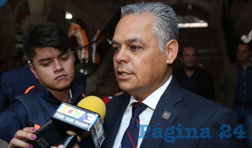 Noel Mata Atilano, alcalde de Jesús María