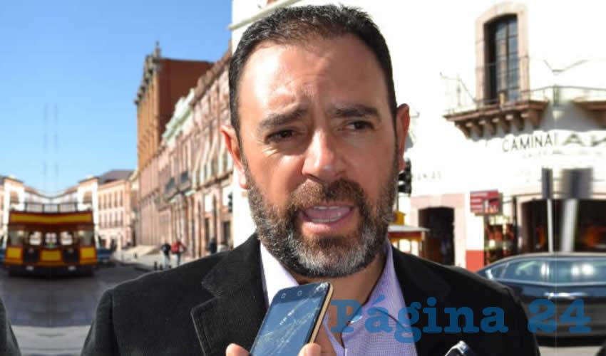 Alejandro Tello Cristerna (Foto: Merari Martínez)