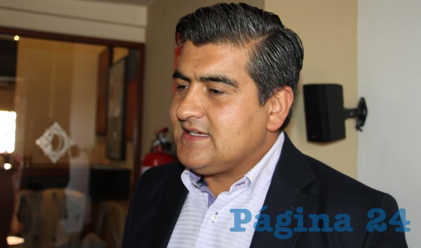 Cecilio Murillo Murillo, presidente de los Gasolineros Asociados del Estado de Zacatecas (Foto: Archivo Página 24)