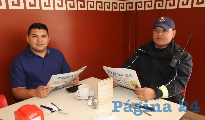 En Las Antorchas almorzaron Adriana Ríos Rodríguez y Fabián Ortega Acuña, festejando su cumpleaños