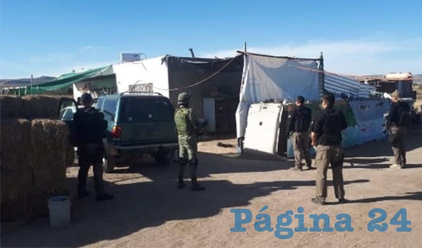 El centro de distribución de drogas se situaba en la colonia Chicahuales