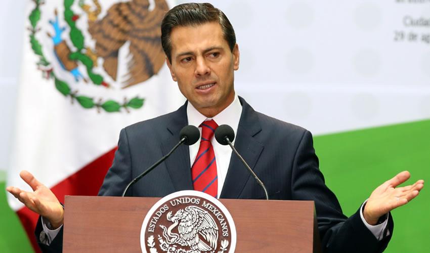 Enrique Peña Nieto ...le explotó la bomba...