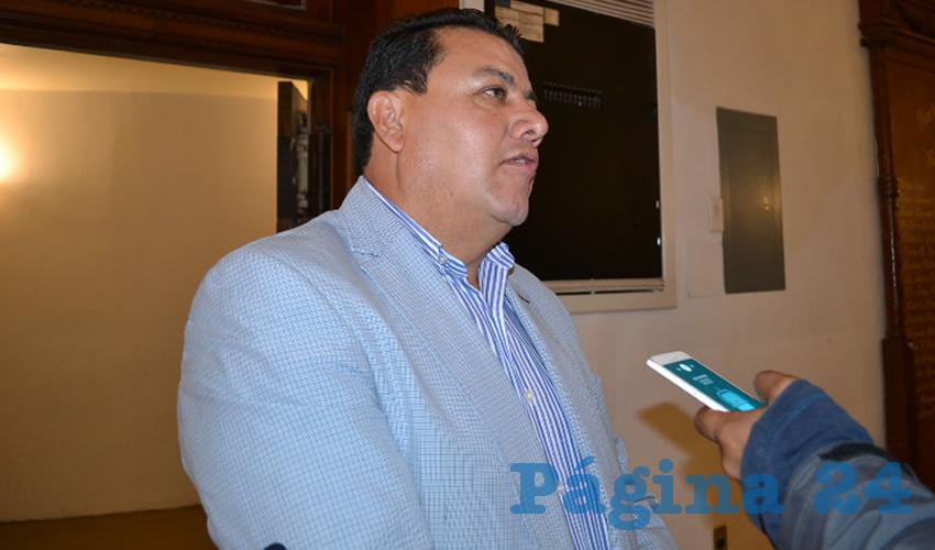 Fernando Galván Martínez, integrante de Movimiento Regeneración Nacional (Morena) (Foto Archivo Página 24)