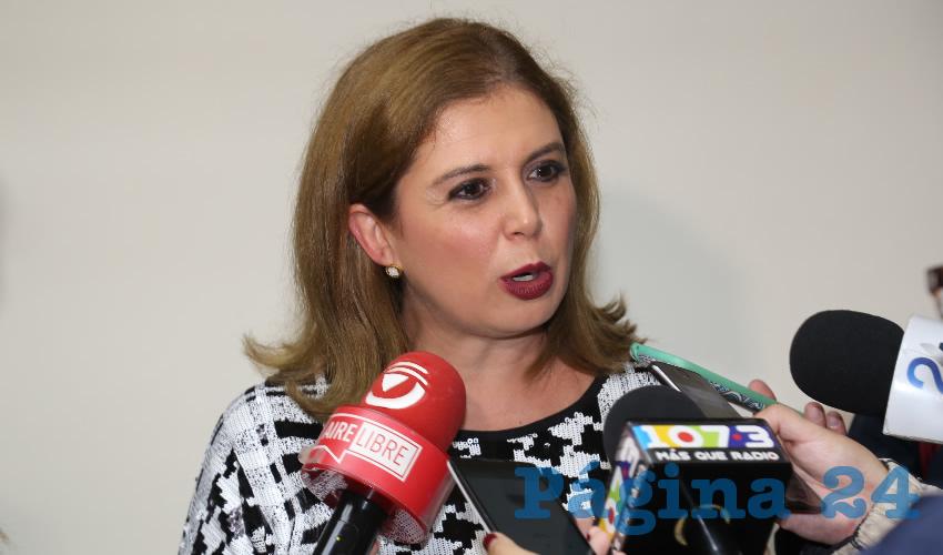 Salma Luévano Luna Tendrá que Hacer su Trámite en Veracruz: Carmen Lucía Franco