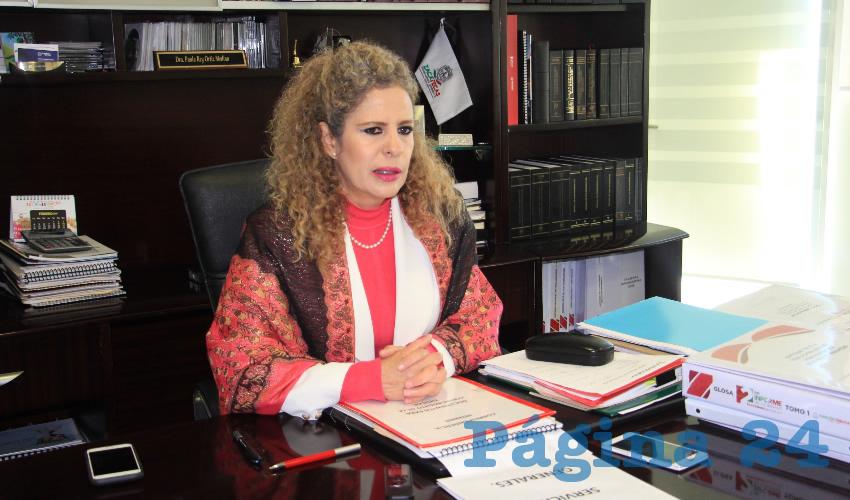 Paula Rey Ortiz Medina (Foto Rocío Castro Alvarado)