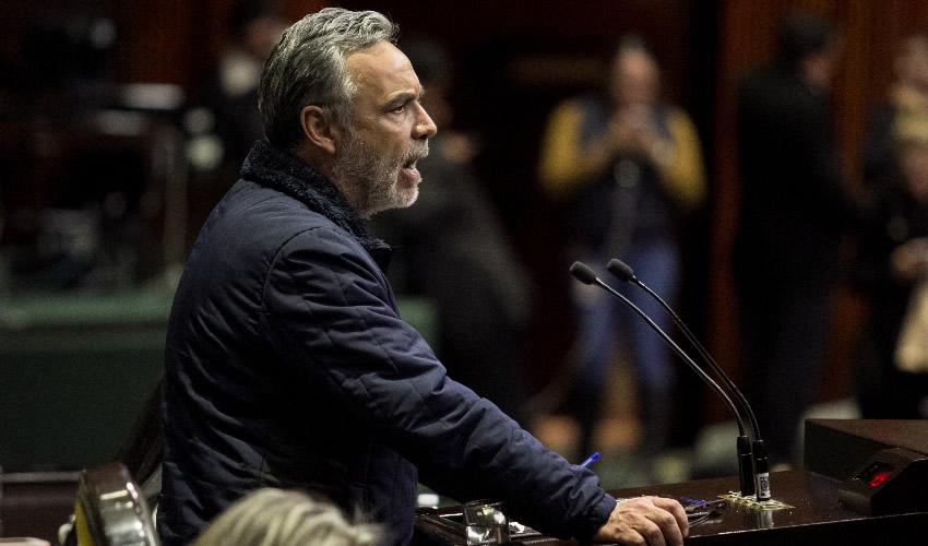 El legislador Alfonso Ramírez Cuéllar dio a conocer que un grupo de trabajo elabora ya una iniciativa para acabar con la elusión fiscal (Foto: Galo Cañas/Archivo/Cuartoscuro)