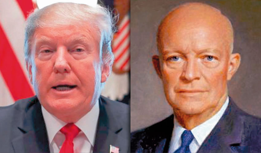 "Donald Trump | Dwight David ""Ike"" Eisenhower"