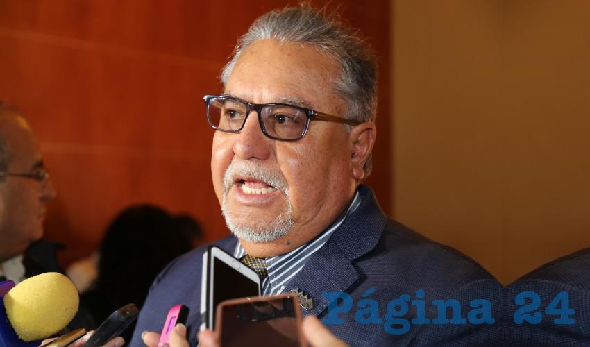 Pedro Gutiérrez Romo, presidente del Consejo Coordinador Empresarial de Aguascalientes (CCEA)