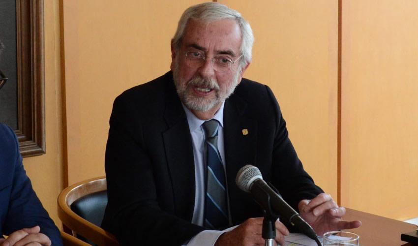 Enrique Graue Wiechers, rector de la Universidad Nacional Autónoma de México (Foto: Archivo/UNAM/Cuartoscuro)