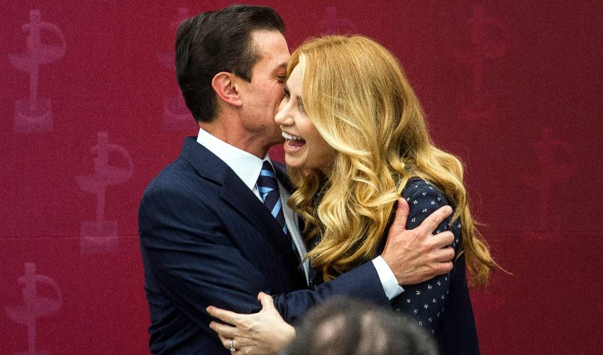 La actriz Angélica Rivera anunció su divorcio del expresidente Enrique Peña Nieto (Foto: Archivo/Isaac Esquivel/Cuartoscuro)