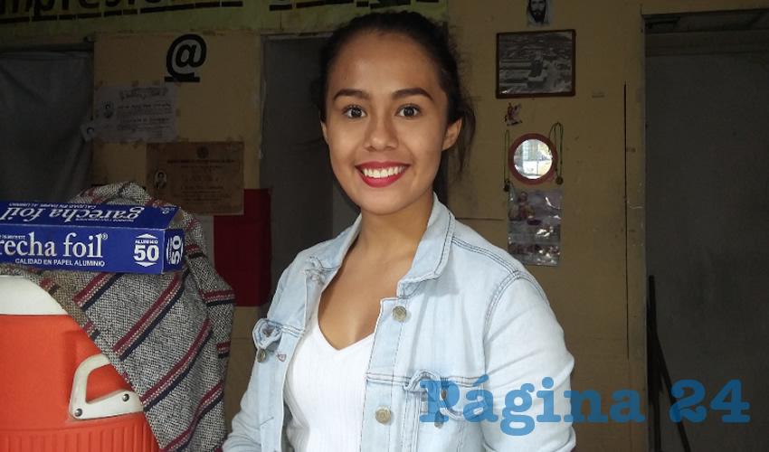 """""""No existe alguna ayuda o alguien que mande a una persona para que nos ayude a mantener la limpieza aquí"""", lamentó Carla Martínez, comerciante del lugar"""