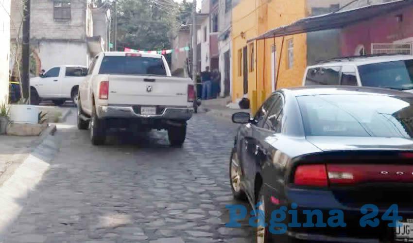 Los delincuentes abrieron fuego contra el sujeto sin mediar palabra, después escaparon dejando una estela de muerte/Foto: Especial