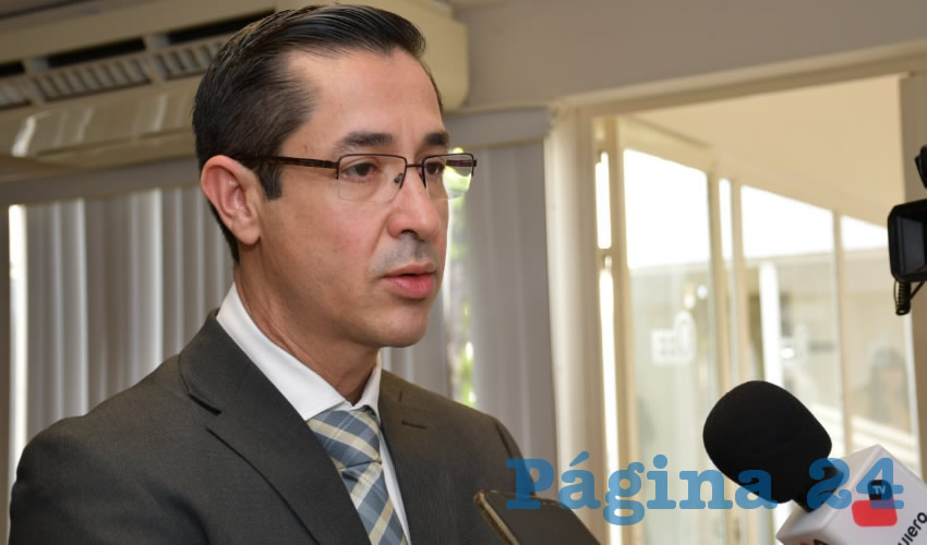 Luis Fernando Landeros Ortiz, consejero presidente del Instituto Estatal Electoral
