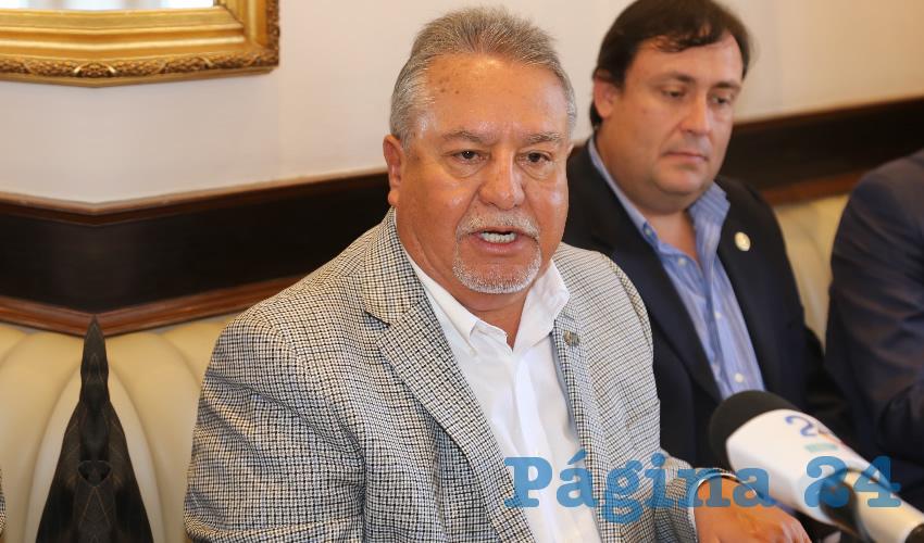 Pedro Gutiérrez Romo, presidente del Consejo Coordinador Empresarial de Aguascalientes (Foto: Eddylberto Luévano Santillán)