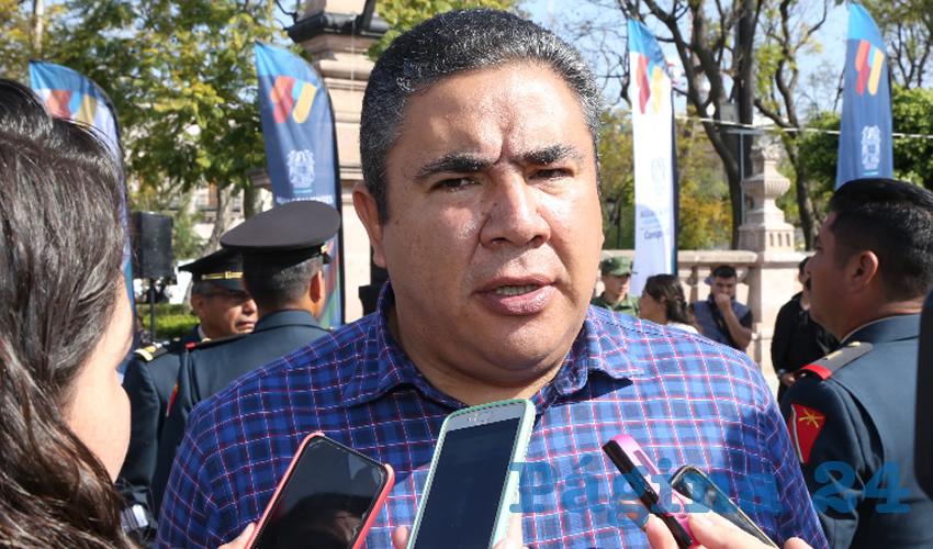 Porfirio Sánchez Mendoza, titular de la Secretaría de Seguridad Pública del Estado (Foto: Eddylberto Luévano Santillán)