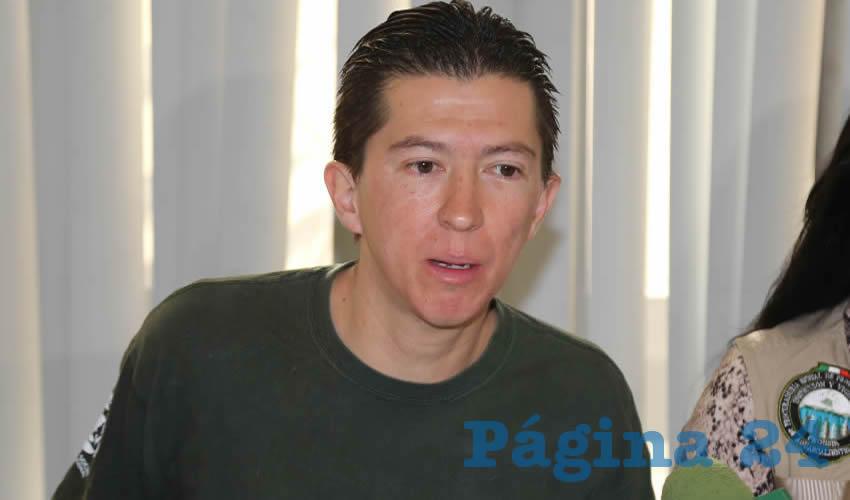 Felipe Márquez Muñoz, integrante de la asociación civil Amigos Pro Animal