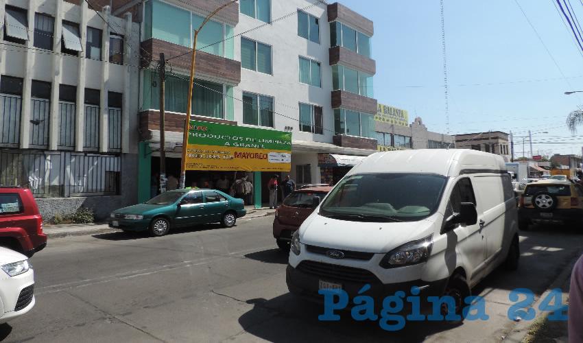 Uno de dos repartidores de la Ciudad de México, fue sorprendido por el delincuente en la calle General Barragán