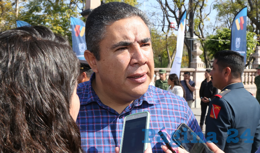 Porfirio Sánchez Mendoza, titular de la Secretaría de Seguridad Pública