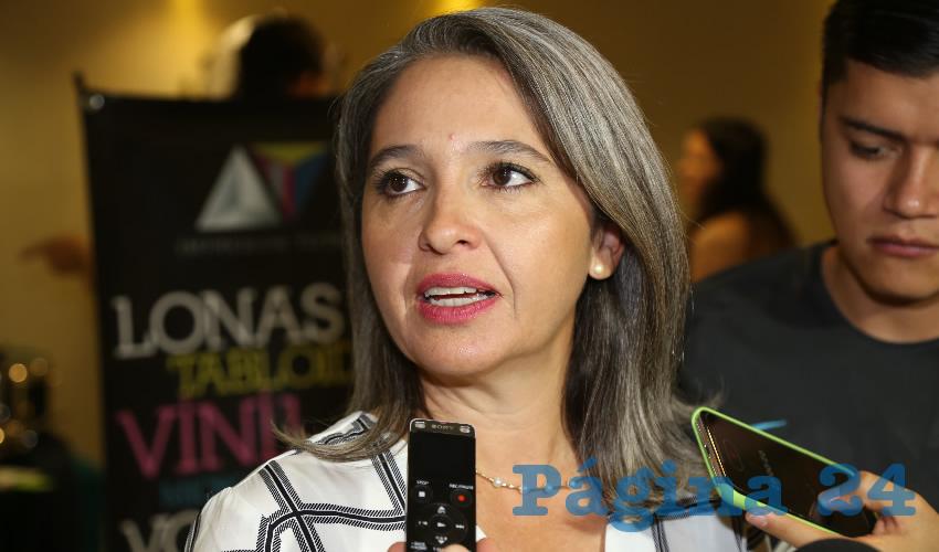 Karla Isabel Martorell Moya, presidenta de la asociación Mujeres Empresarias Mexicanas