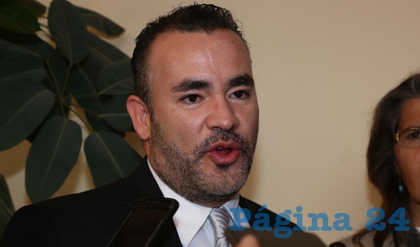 Mauricio González López, regidor del Municipio de Aguascalientes