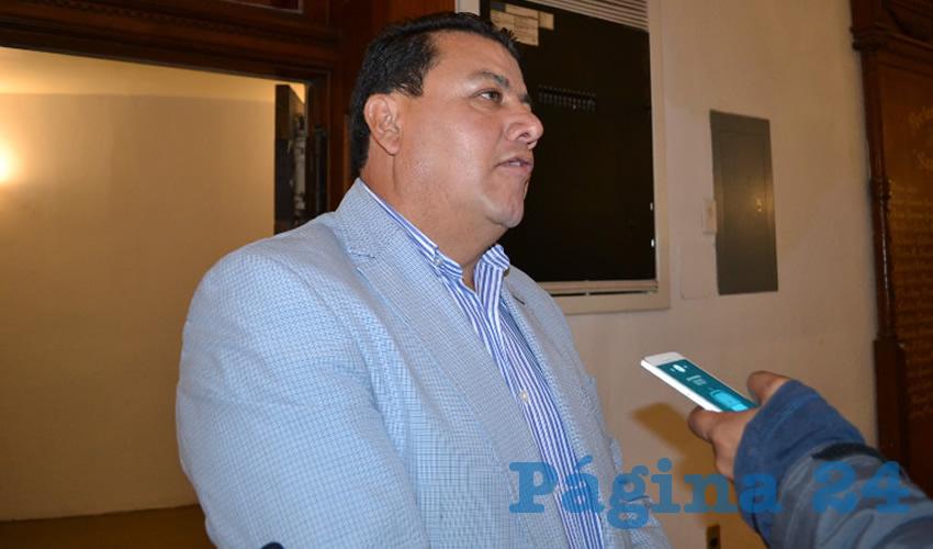 Fernando Galván Martínez, integrante de Movimiento de Regeneración Nacional (Morena) y líder de organizaciones de productores de frijol en el norte de Zacatecas (Foto Rocío Castro Alvarado)