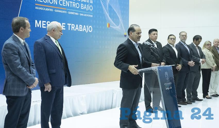 Gobiernos de la Región Centro-Bajío Aliados Para la Construcción de una Agenda de Desarrollo Estratégica