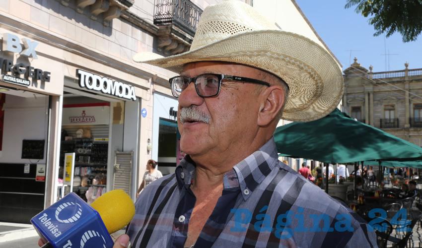 Este 14 de Febrero Dejará, Aproximadamente, Cinco mdp al Comercio Establecido: Rubén Ángel Berumen