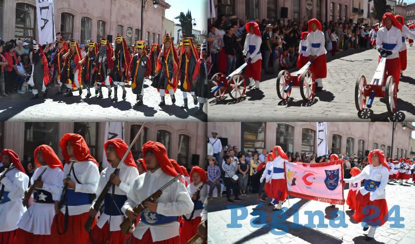 Representación de las Morismas de Bracho Sella Hermanamiento de Zacatecas Capital con Orihuela