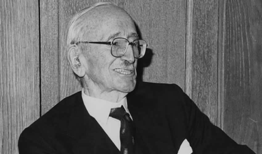 Friedrich Von Hayek, el denominado padre del neoliberalismo