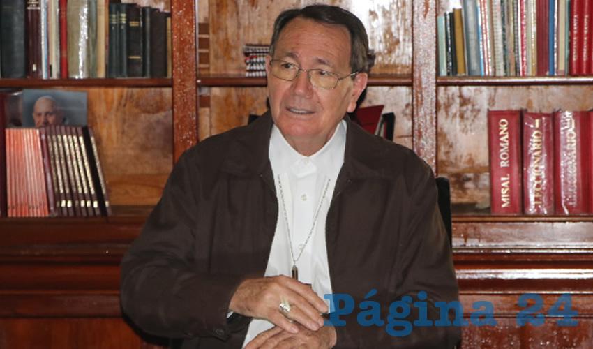 """""""Los Matrimonios son Entre Hombre y Mujer"""", Insiste el Obispo Noriega"""