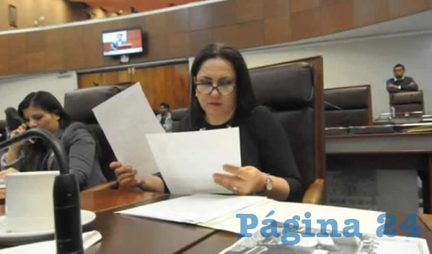Mónica Borrego Estrada, solicitó sea realizada una auditoria al Instituto de Cultura Física y Deporte del Estado de Zacatecas (Incufidez) (Foto Cortesía)