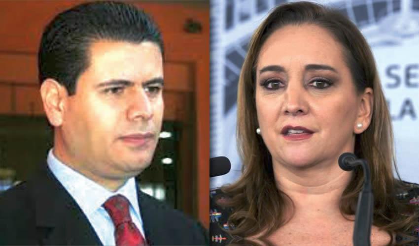 Miguel Alonso Reyes | Claudia Ruiz Massieu