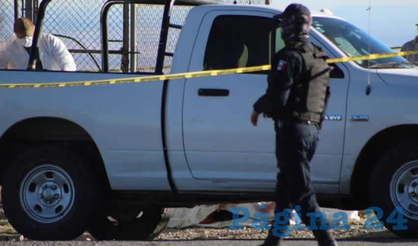 En el municipio de Vetagrande dejaron tres cadáveres mutilados