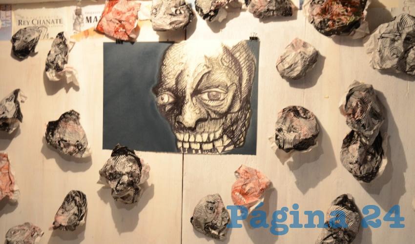 """La Exposición """"G.S. Atl Tlachinolli"""", Muestra la Violencia, Tortura, Corrupción: Carlos Ollín"""