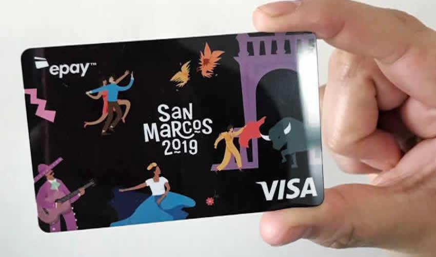 La tarjeta Visa conmemorativa de la edición 2019 de la verbena abrileña