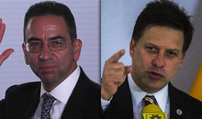 Javier Lozano y Fernando Belaunzarán: escaso nivel argumentativo (Fotos: Archivo/Enrique Ordóñez/Cuartoscuro)