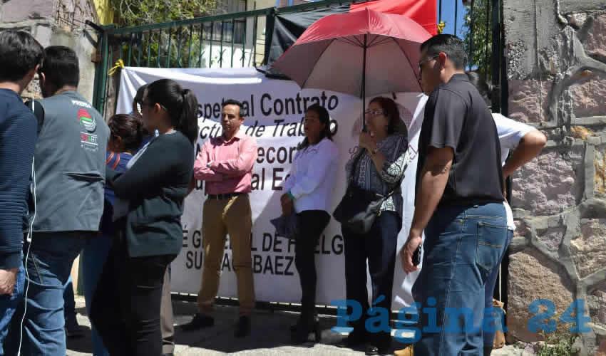 Expuso que la huelga solamente se podrá conjurar en caso que exista acuerdo entre la parte trabajadora y la patronal con las autoridades correspondientes (Foto Merari Martínez)