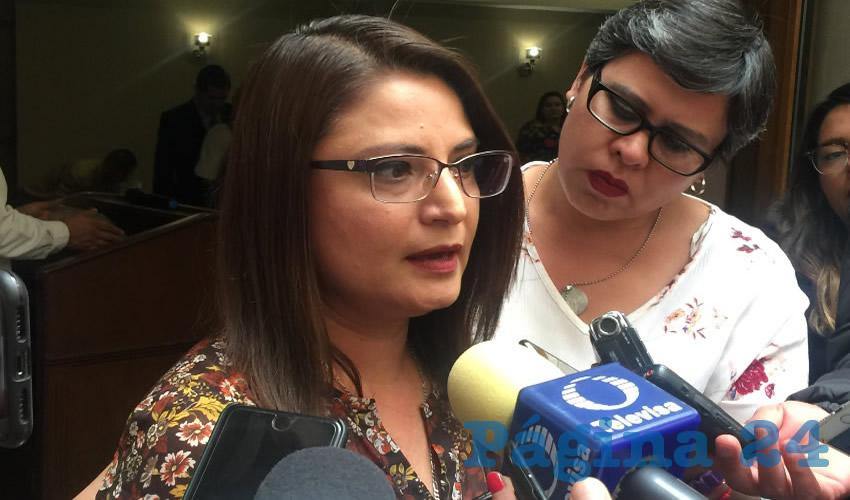 Adriana Guadalupe Rivero Garza, titular de la Secretaría de la Mujer (Semujer) (Foto Cristo González)