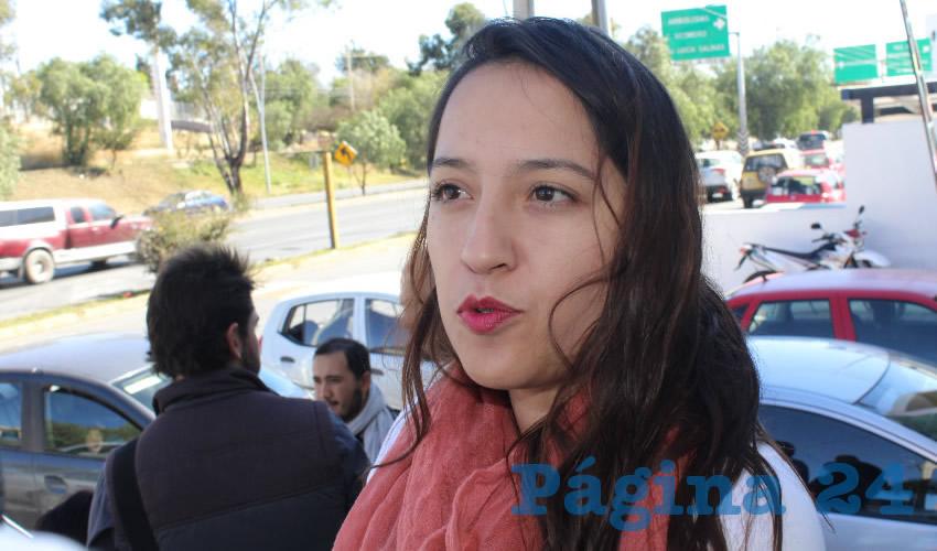 Emilia Pesci Martínez, resaltó que las tareas que se encuentra realizando el ayuntamiento en temas como prevención del delito y asesorías a los jóvenes, es un proyecto importante, pues implica que se abordarán medidas de respeto y equidad de género. (Foto: Rocío Castro Alvarado)