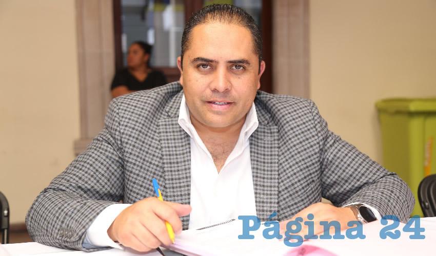 José de Jesús Aranda Ramírez, director de Reglamentos (Foto: Eddylberto Luévano Santillán)